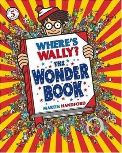 Where's Wally Book: Book 5: WHERE'S WALLY? THE WONDER BOOK - Large - NEW