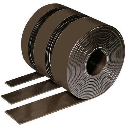 Typ A Magnetband Magnetstreifen selbstklebend 1,5mm x 25,4mm x 10m B
