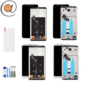 LCD-Ecran-tactile-Xiaomi-Redmi-5-Plus-Noir-Blanc-avec-sans-Chassis-Frame
