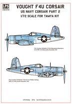 LPS Decals 1/72 VOUGHT F4U CORSAIR U.S. Navy Fighter Part 2