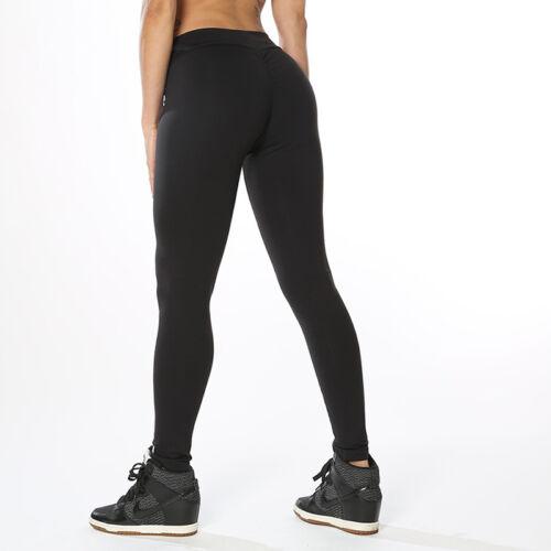 Damen Stretch Leggings Leggins Sporthose Yoga Fitnesshose Jogginghose Tracksuit