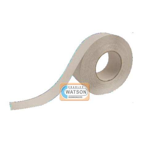 25mm x 5m White ANTI SLIP TAPE High Grip Adhesive Backed Non Slip Safety