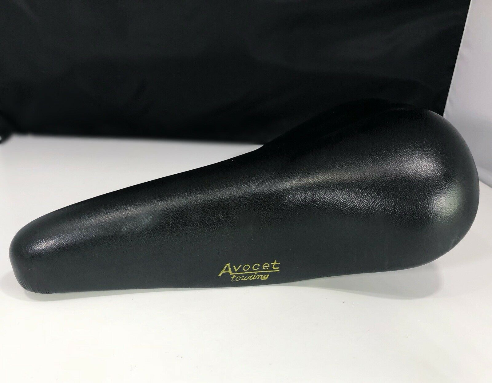 Vintage Avocet touring Genuine Leather Saddle Seat road racing  bike clean  free shipping