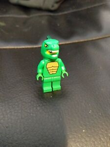 2019 DernièRe Conception Rare Lego Figurine Lizard Suit Guy-afficher Le Titre D'origine Vente D'éTé SpéCiale