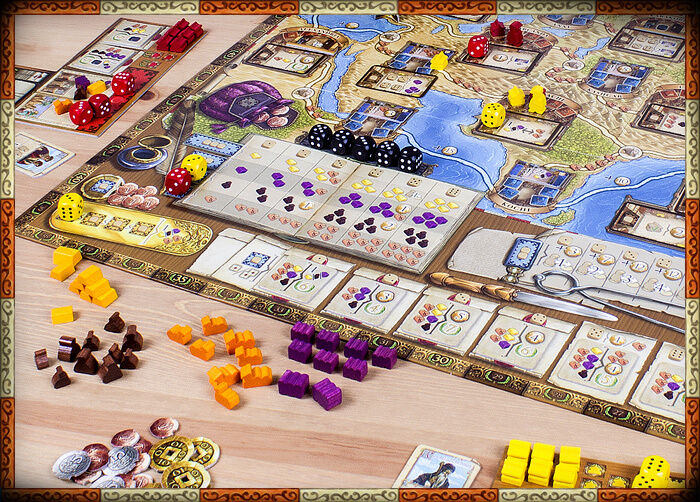 The Voyages of Marco Polo - Board Board Board Game - New -{ FREE Game Offer }- e6b95e