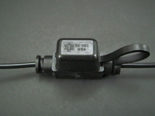 In-line Automotive Fuseholder 16A 32V 16AWG BUSS HHL Mini ATM Blade Fuses