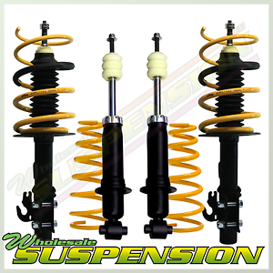 Details about RAISED HEIGHT SUBARU FORESTER SG SUSPENSION KIT - 4 SHOCKS, 4  COIL SPRINGS