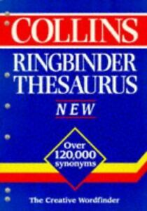 Very-Good-Collins-Ringbinder-Thesaurus-Paperback
