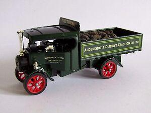 Matchbox Yesteryear Camion à vapeur Foden Aldershot et district de Victoria Y27 Code 3