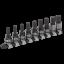 nuevo-AK7986-Sealey-Premier-Llave-Hexagonal-Black-Socket-Bit-Set-9pc-3-8-034-Sq-metrica-de-unidad miniatura 1