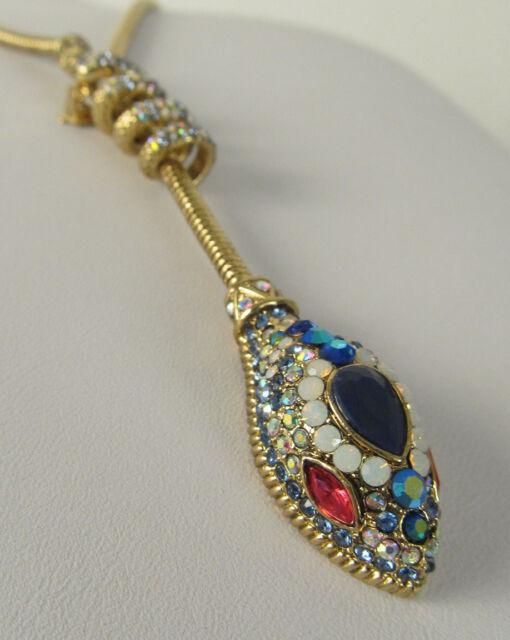 Betsey Johnson Jewelry Betsey Blues Snake Lariat Necklace ...