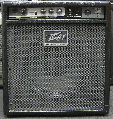 peavey max 110 bass combo amp guitar 20 watt amplifier ebay. Black Bedroom Furniture Sets. Home Design Ideas