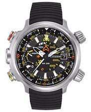 Citizen BN5030-06E Men's Eco Drive Resin Strap Promaster AltiChron Sensor Watch