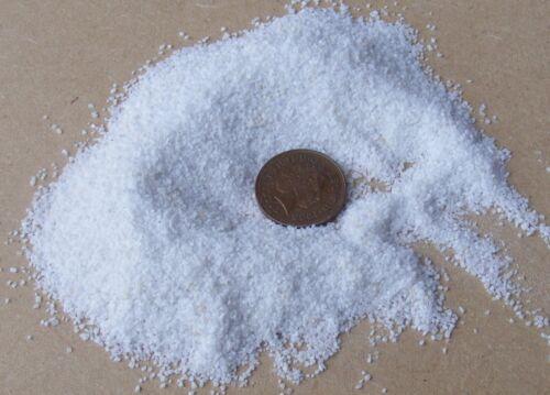 Paquete 50g Color Blanco Muy Fina Piedras tumdee Casa De Muñecas Accesorio de jardín 50o