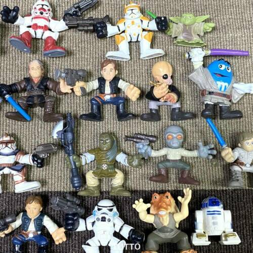 Random 10x Playskool Star Wars Galactic Heroes Jedi Force Clone Stormtrooper Toy