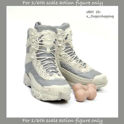 Tony Stark white sneakers The Mechanic 1//6 Scale Hot Toys MMS209 Iron Man 3