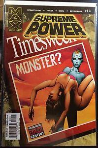 Supreme-Power-16-VF-NM-1st-Print-Marvel-Comics