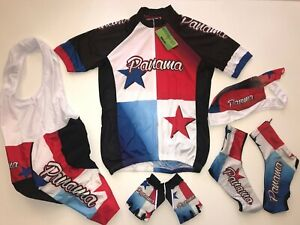 New size Small MEXICO Team Cycling Flag Road Bike Set Jersey Bib Shorts S