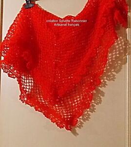 Amical Chale Crochet Fait Main Creation S Raisonnier Artisanat Francais Pichenette Douceur AgréAble