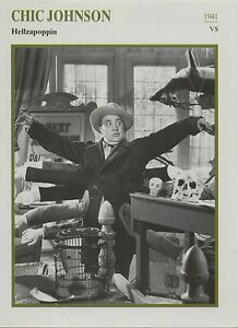 Chic-Johnson-American-Actor-Film-Movie-Cinema-Trading-Card