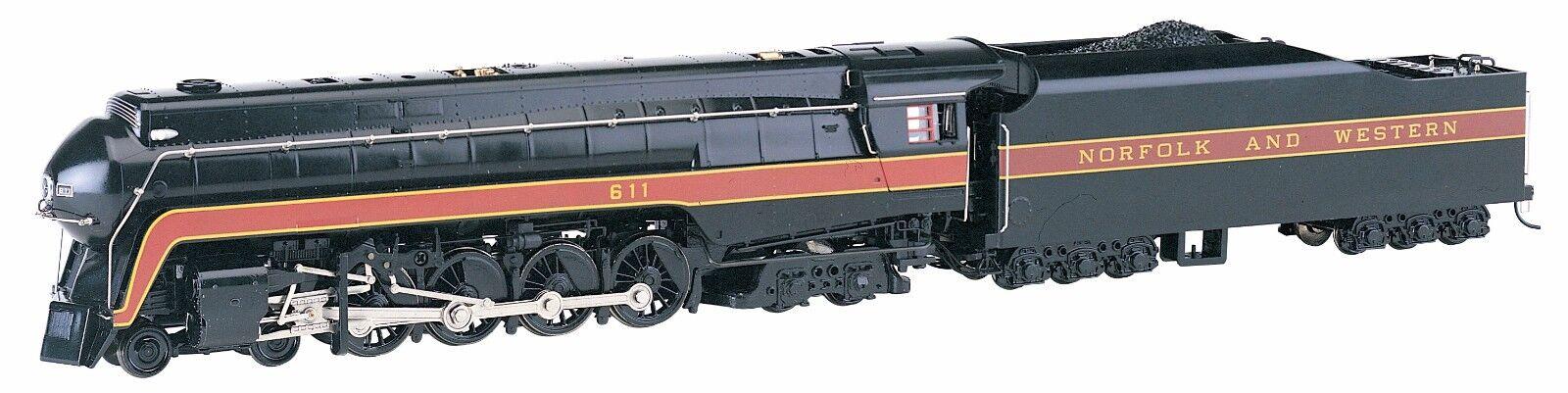 Bachmann 53201, HO Norfolk & Western 4 -8 -4 klass J järnväg Fan - DCC Sound