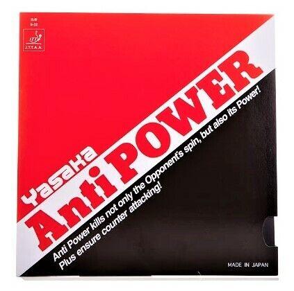 YASAKA[Anti POWER] Table Tennis Rubber /Ping Pong