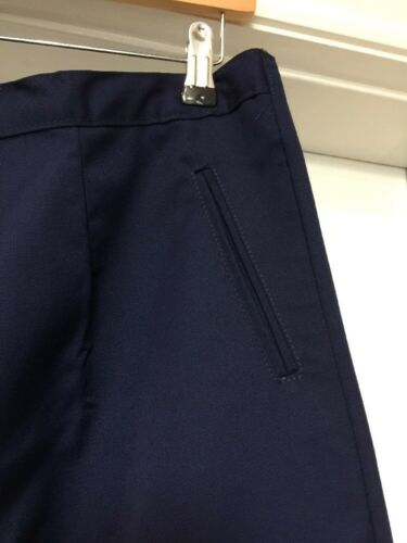 BNWT Haywood TL40 Work Nurses Carer  Trousers in Navy Size 16 x 32L