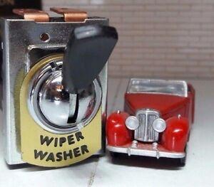 Coche-Vintage-Clasico-Inyector-De-Agua-Para-Parabrisas-amp-Limpiaparabrisas