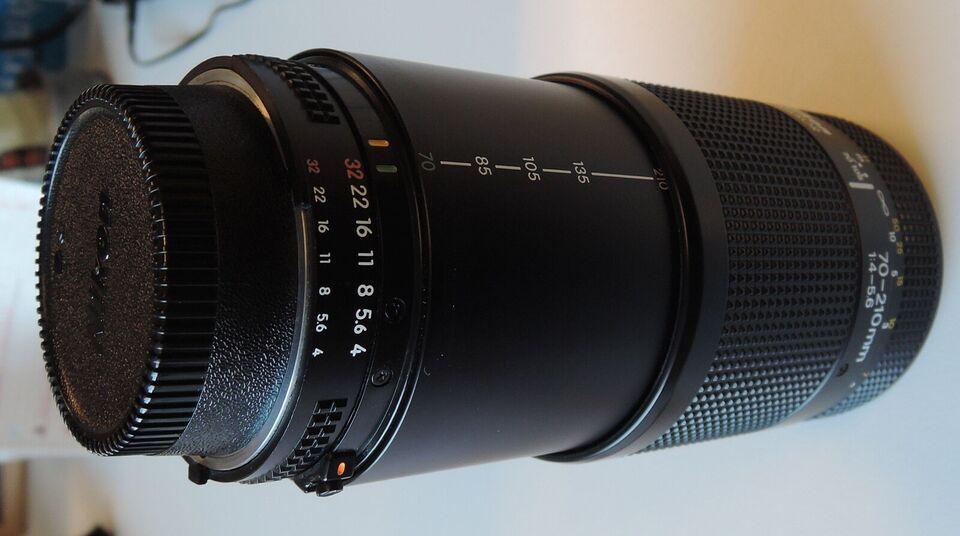 Zoom, Nikon, AF Nikkor 70-210mm