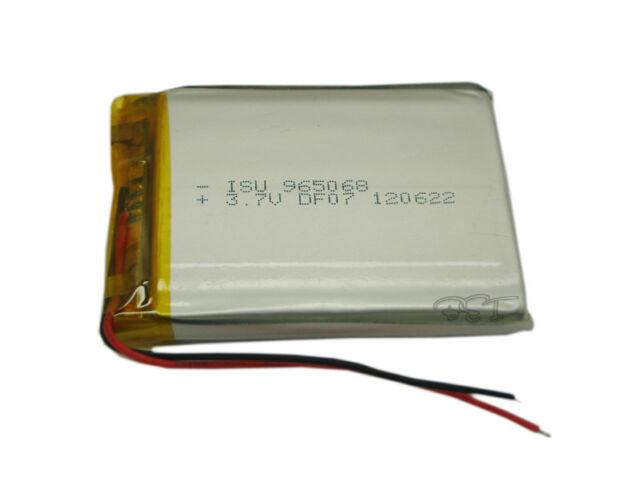 Lithium 3.7V 4000 mAh Li-polymer rechargeable Li-Po ion 965068 For Tablet PC