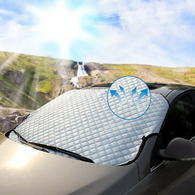 Thick Windproof Design Top Quality Exterior Cover With Magnetic Edges all Weather Winter Summer Auto Sun Shade Protector Frost Guard Czoom Car Windshield Snow Cover for Ice and Snow