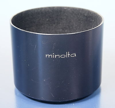 Hardwerkend Minolta Mc 135mm F3.5 Sonnenblende Lens Hood Pare Soleil - (92950) Brede VariëTeiten