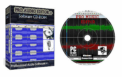 Pro Audio Sound Music Mp3 Editor Editing Mixing Recording
