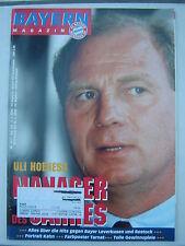 FC BAYERN MÜNCHEN Magazin Stadionzeitung Nr. 9 9.2.2000 Bayer 04 Leverkusen