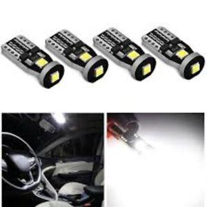 4Pcs T10 Led Canbus W5W Led Bulbs 168 194 Car Interior Lights Signal Lamp Dome
