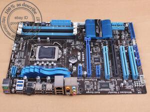 Asus P8H67-V Rev.3.0 Mainboard Sockel 1155 Intel H67 DDR3 Speicher ...