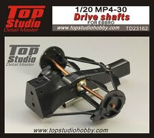 1/20 McLaren MP4/30 Honda high detail driveshaft set Top Studio ~ TD23162