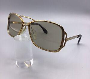 Silhouette-Sunglasses-Vintage-Sunglasses-Lunettes-Sonnenbrillen-Gold-60s