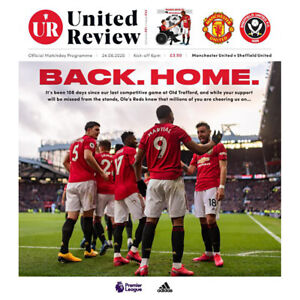 Manchester-United-v-Sheffield-United-24th-June-2020-Official-Matchday-Programme