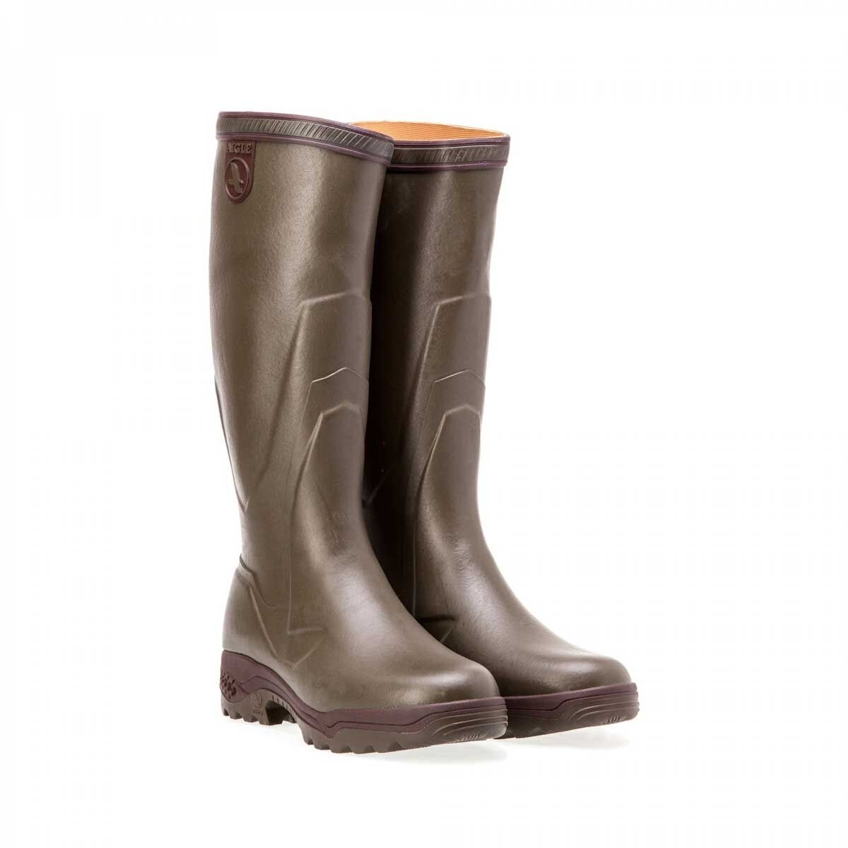 Adults Ladies Mens Parcours 2 Enduro by Aigle Wellington Boots Walking Outdoor