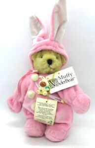 Muffy-VanderBear-in-Removable-Easter-PINK-BUNNY-Costume-Fully-Jointed-w-Tags