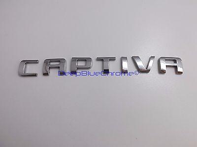 Chevy Captiva Sport Chrome Emblem 08-15 Badge OEM GM Letters Liftgate Trunk Rear