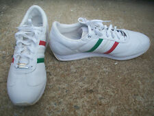 Adidas MEXICO Sneakers Tennis Shoes Low Tops RARE WHITE Men's Size 14 VGC