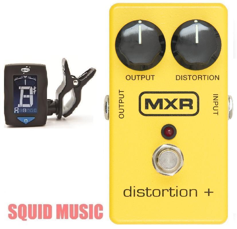 MXR Distortion + M-104 Guitar Effects Pedal ( FREE GUITAR TUNER ) M104 Dist +