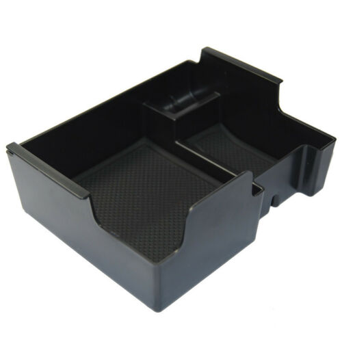 For 2011-17 Ford Explorer Console Armrest Storage Bin Box Tray Container