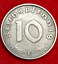 Rarest-Old-WWII-German-War-10-Cent-Coin-Military-Army-Collection-Army-1944-D-Day thumbnail 2