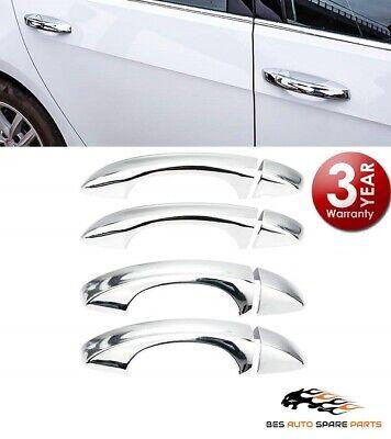 Acero 2012Up Renault Clio IV 4 cubierta de la manija de puerta cromo HB 4Pcs 4 puertas S