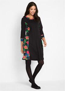 Nouvelle 40 4 couleur 42 3 robe taille de de bras maternité noire BwABCqT