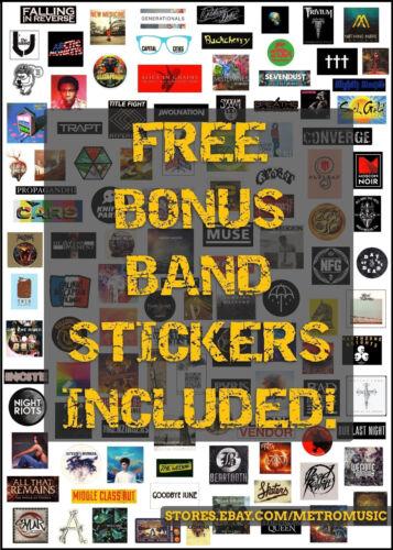 SUNFLOWER BEAN Human Ceremony Ltd Ed RARE Sticker FREE Indie Alt Rock Stickers!