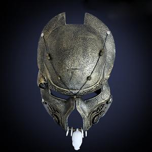 Predator Movie Halloween Deluxe Adult Costume New Elder Predator Mask Aliens vs